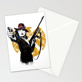Agent Peggy Carter Stationery Cards