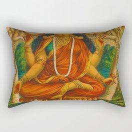 Rubino Yoga Zen Guru Rectangular Pillow