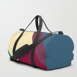 Color Me Calm by Kimberly J Graphics Duffle Bag