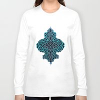 celtic Long Sleeve T-shirts featuring celtic blue by Ariadne