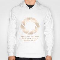aperture Hoodies featuring Aperture Science by IS0metric