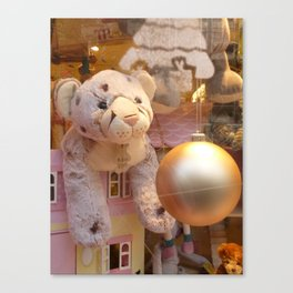 Toy shop window, Paris Canvas Print