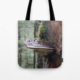 Magical Fungi World   Nature Photography Tote Bag