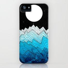 A rough winter's sea iPhone Case