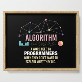 Algorithm Definition - Funny Programming Definition Serving Tray