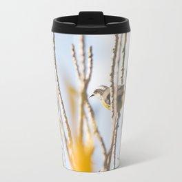 Bird - Black And White Travel Mug