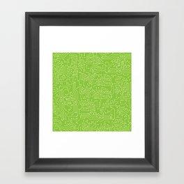 Circuit Board Framed Art Print