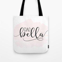 CIAO BELLA DESIGN, Ciao Bella Wall Art,Spanish Quote,Spanish Decor,Spanish Gifts,Modern Decor Tote Bag