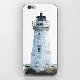 Lighthouse Illustration iPhone Skin