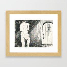 Gameli and the Door Framed Art Print