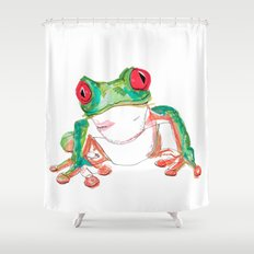 Froglet Shower Curtain
