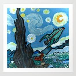 Starry Flight Art Print