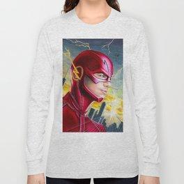 Barry Allan-THE FLASH Long Sleeve T-shirt