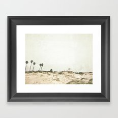 Manhattan Beach, California Framed Art Print