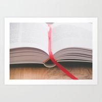 bible Art Prints featuring Bible by Andrea Anderegg Photography