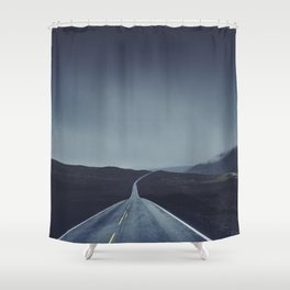 Foggy Road Shower Curtain