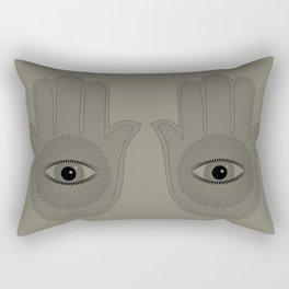 HAND PROTECTION Rectangular Pillow