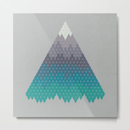 Many Mountains Metal Print