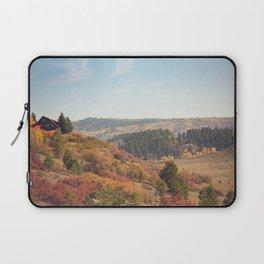 Mountain Cabin Retreat x Colorado Rustic Photography Laptop Sleeve