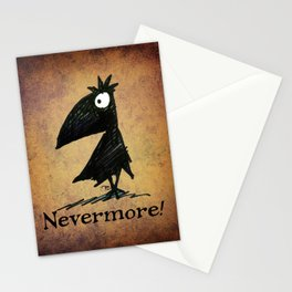 Nevermore! The Raven - Edgar Allen Poe Stationery Cards