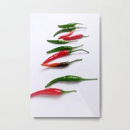 Chili pep Metal Print