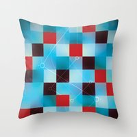 chemistry Throw Pillows featuring Chemistry. by ME&MO