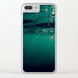 life aquatic Clear iPhone Case