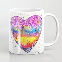Colorful Love | White Coffee Mug