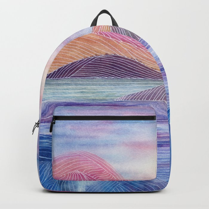 Lines in the mountains XVII Backpack