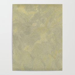 Modern Masters Metallic Plaster - Aged Gold and Silver Fox - Custom Glam Poster