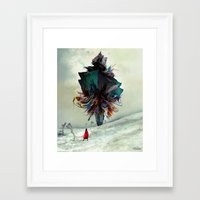 archan nair Framed Art Prints featuring Soh:adoe by Archan Nair