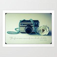Instamatic Photography Art Print