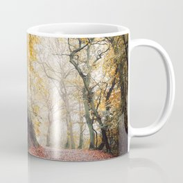 Path through the Autumn Forest Coffee Mug