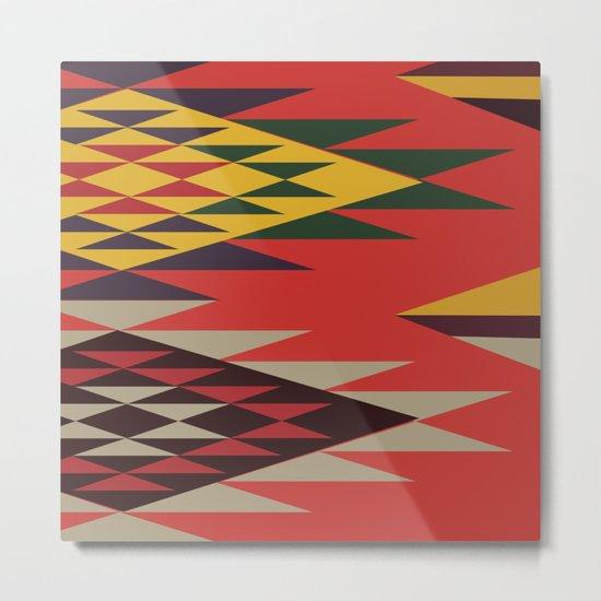 American Native Pattern No. 51 Metal Print