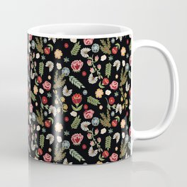 Heritage folklore, inspired by Czech and Moravian folklore costumes Coffee Mug
