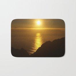 Sunset over the Canary islands Bath Mat