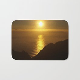 Sunset over the Canary islands Bath Mat