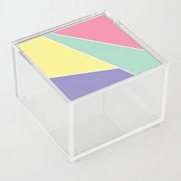 Pastel Color Block Acrylic Box