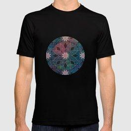 Water Lily Pattern T-shirt