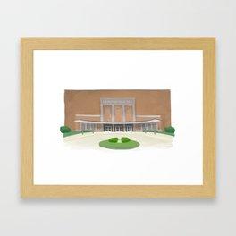 Packard Music Hall Framed Art Print