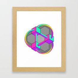 Twisted daydream Framed Art Print