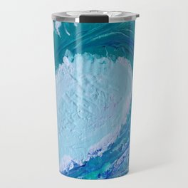 """Pacific Wave"" by Laurie Ann Hunter Travel Mug"