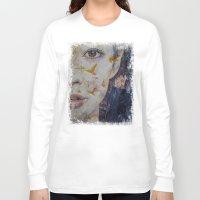 geisha Long Sleeve T-shirts featuring Geisha by Michael Creese