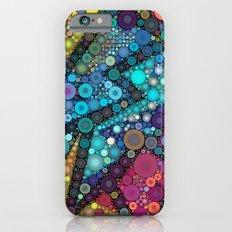 Disco Bubbles Slim Case iPhone 6