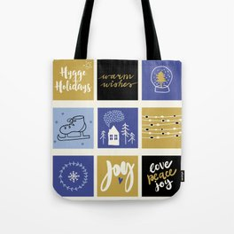 Hygge Holidays Tote Bag
