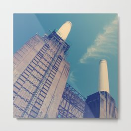 Battersea Power Station 2 Metal Print