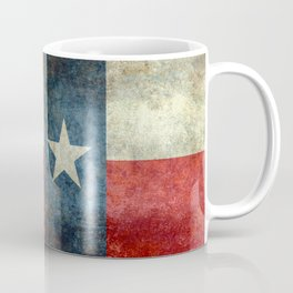 Texas State Flag, Retro Style Coffee Mug