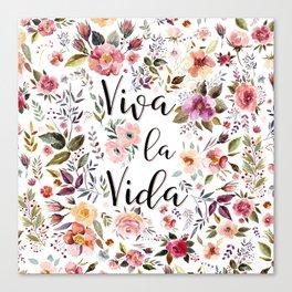 Viva La Vida Canvas Print