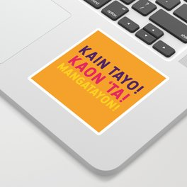 Filipino Kitchen Loteria - Let's Eat Sticker