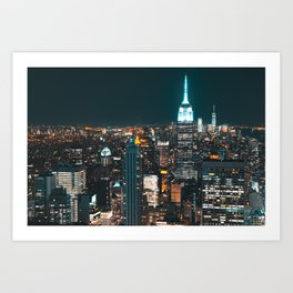 New York...The City of Dreams Art Print
